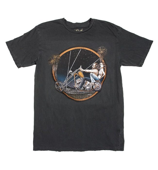 Midnight Rider Chopper Love Tee - Apparel: Men's: Graphic T-Shirts - Iron and Resin