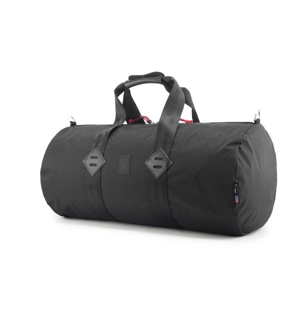 Topo Designs Classic Duffel - X-Pac Black - Bags/Luggage - Iron and Resin