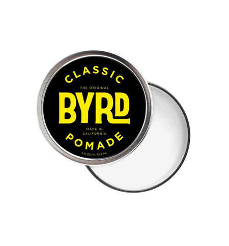 Byrd Classic Pomade 3oz - Grooming - Iron and Resin