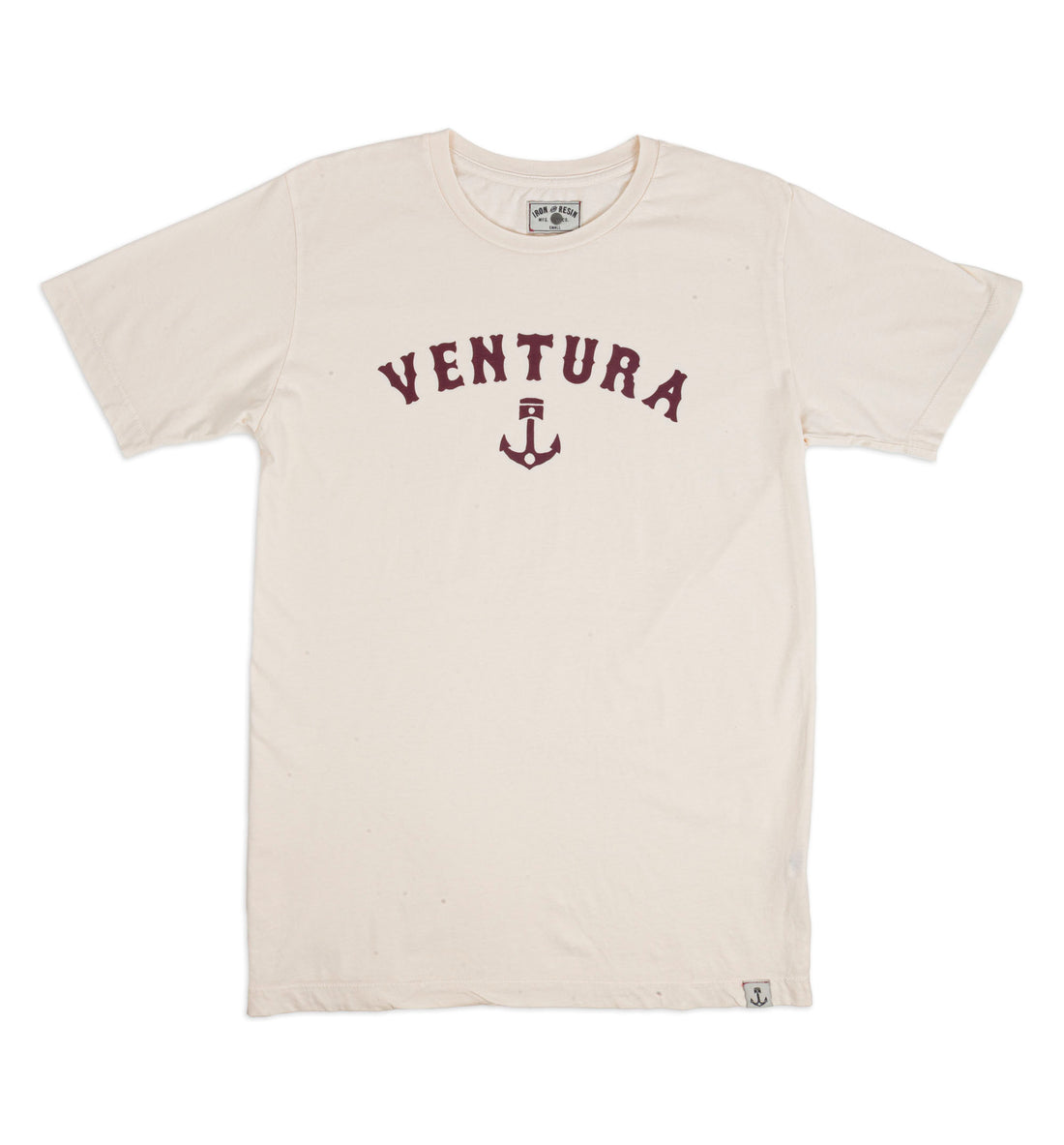 Ventura Anchor Piston Tee - Tops - Iron and Resin