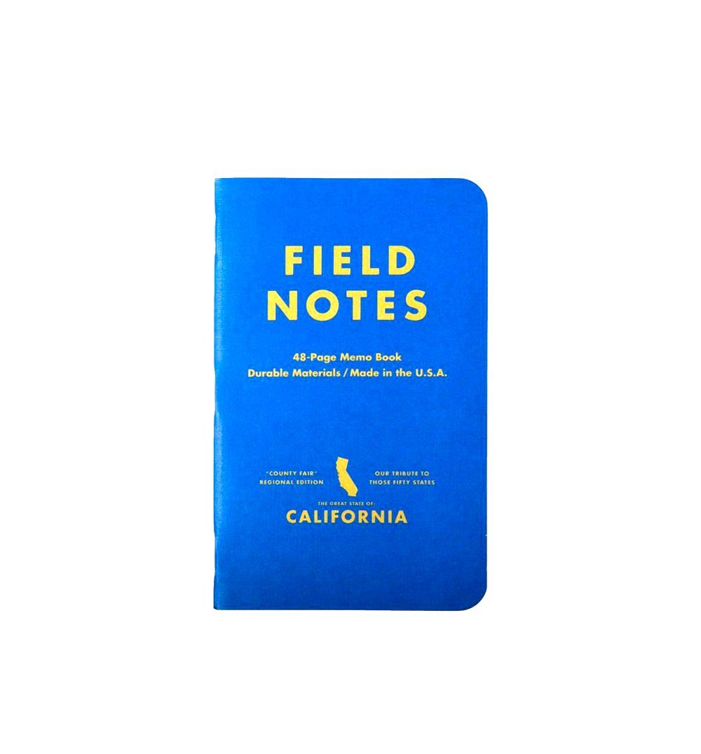 Field Notes COUNTY FAIR 3-PACK - California Fair - Graph 3-Pack - Home Essentials - Iron and Resin