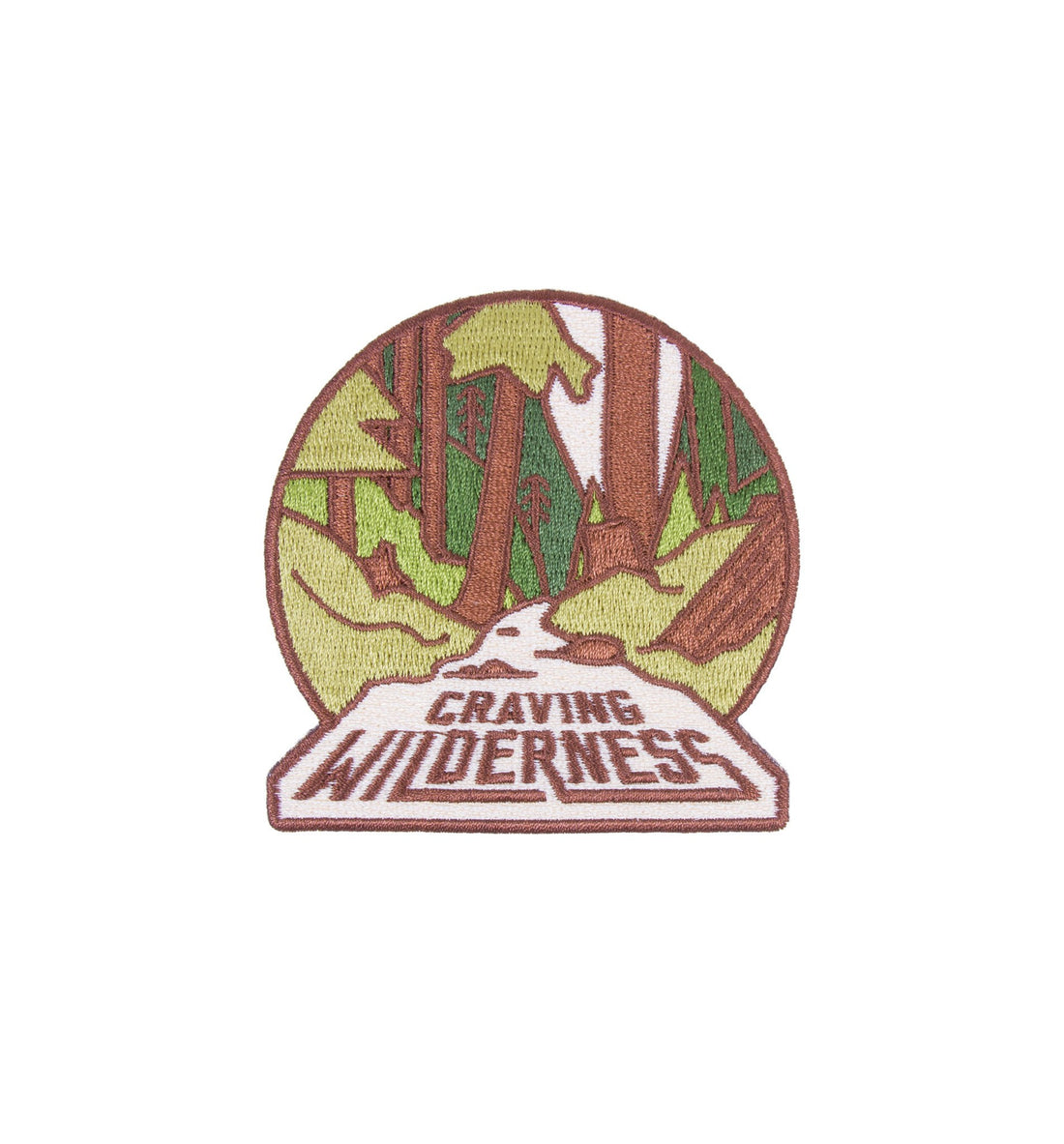 Asilda - Craving Wilderness Patch - Accessories: Patches - Iron and Resin