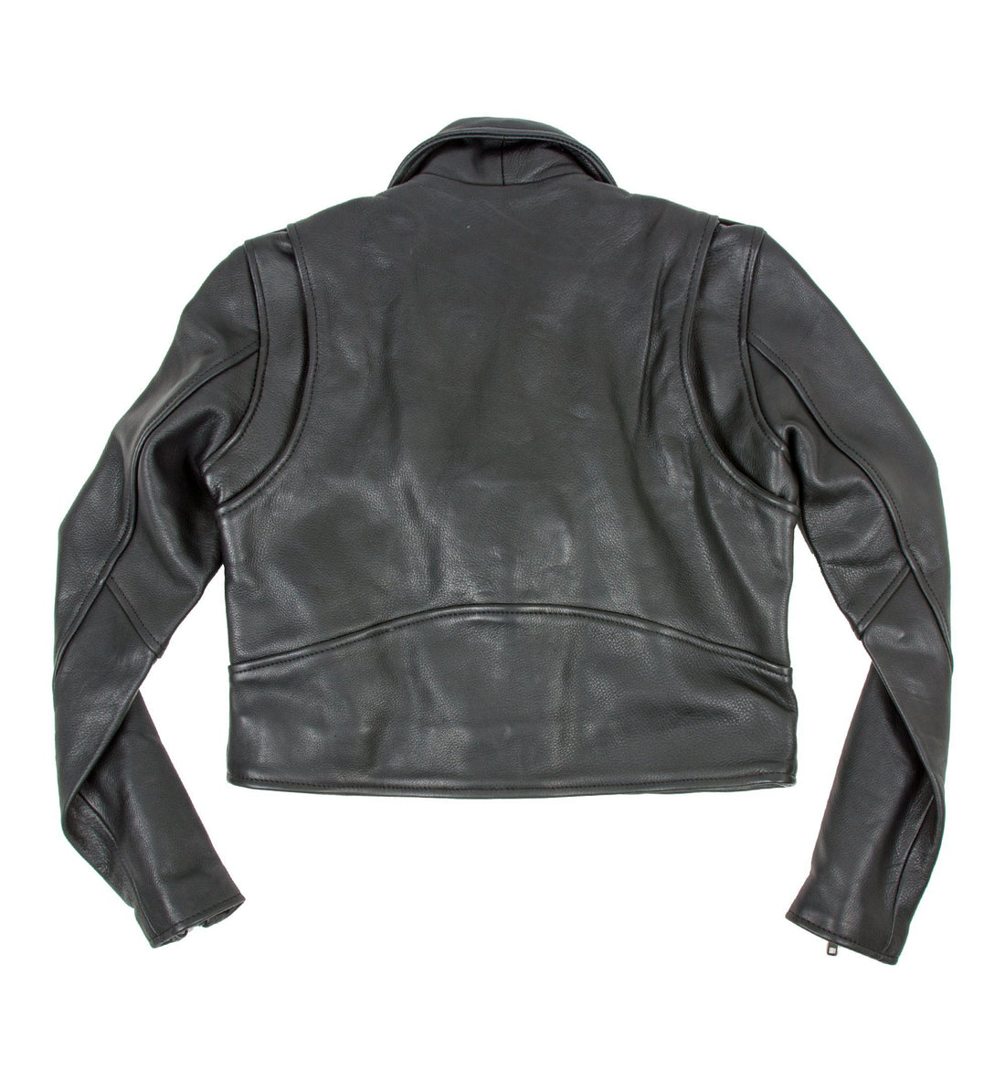 INR x Understated Leather Women's Cropped Leather Jacket - Outerwear - Iron and Resin