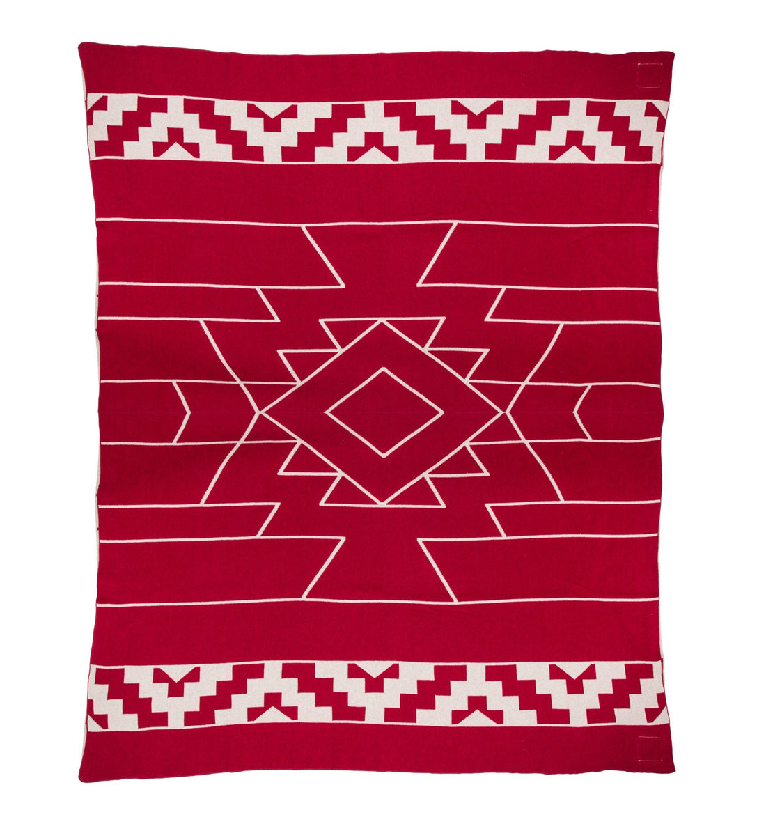Dakota Blanket, Oxblood - Living Space - Iron and Resin
