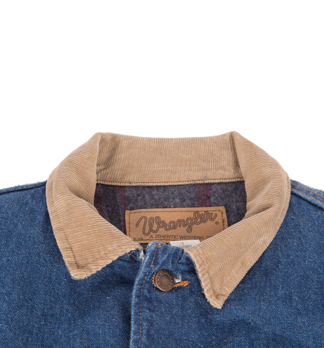 Vintage Wrangler Lined Denim Jacket