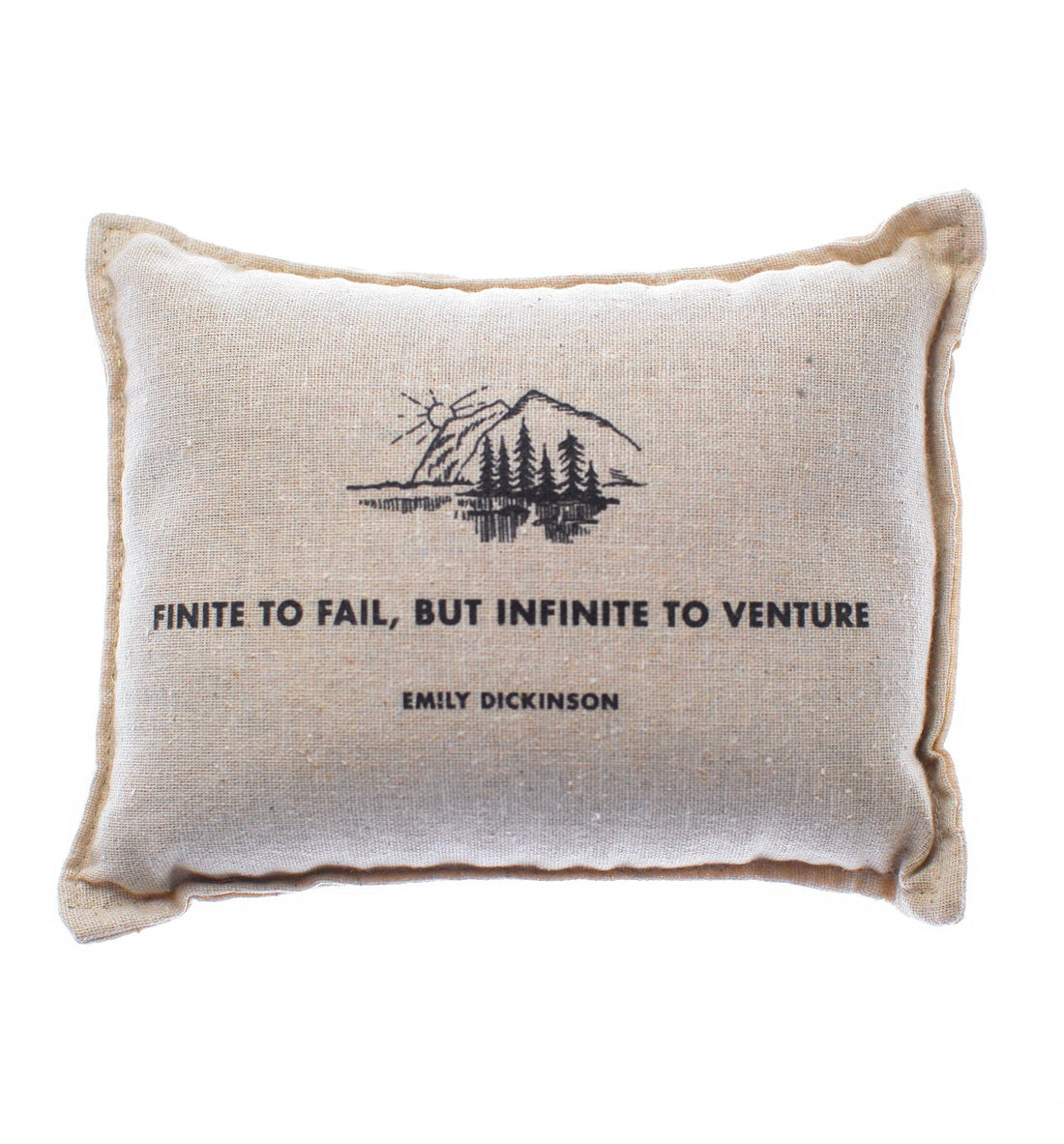 Izola Dickinson Balsam Pillow - Natural - Living Space - Iron and Resin