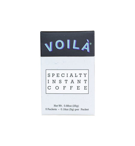 Voila Specialty Instant Coffee - Discovery Box - Kitchen/Bar - Iron and Resin