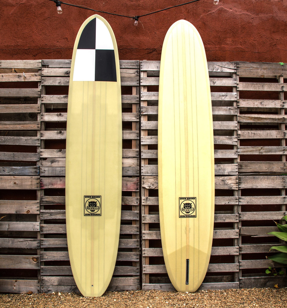 Dyer Brand Ace Checker Nose, 9'6 - Surf: Boards - Iron and Resin