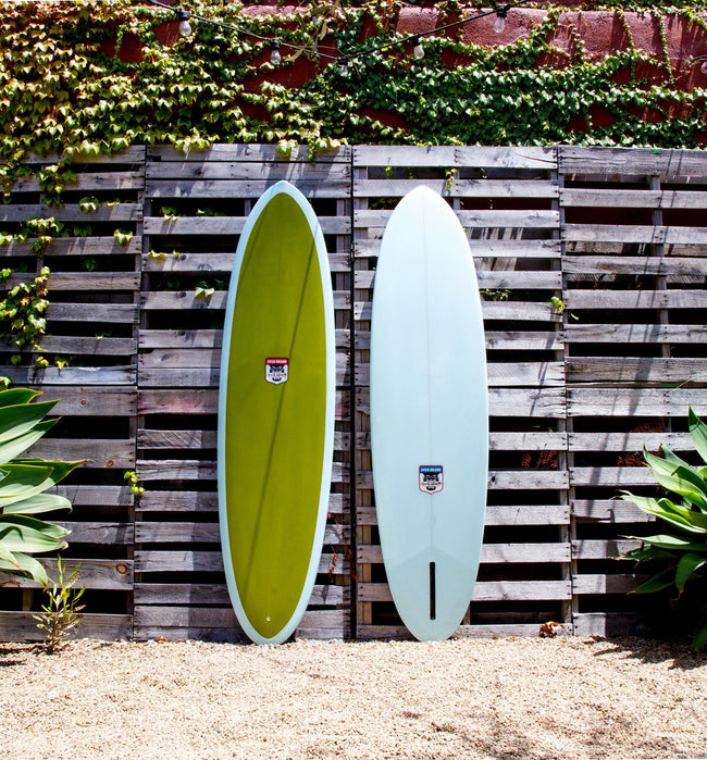 "Dyer Brand Apache, 7' 2"" - Surf - Iron and Resin"