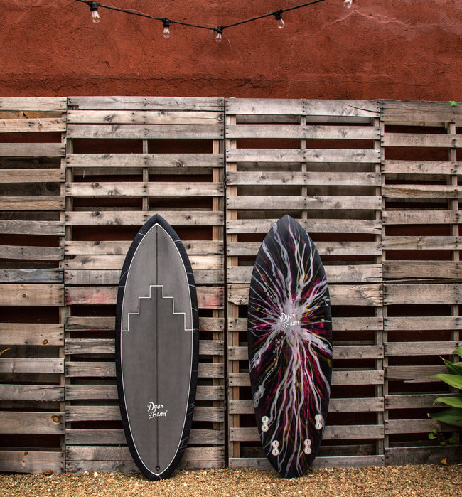Dyer Brand Belly Tanker, 5'4 - Surf: Boards - Iron and Resin