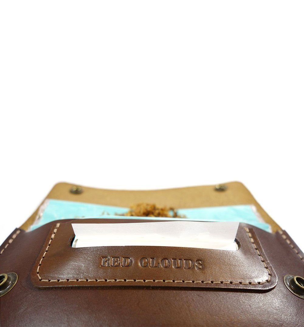 Red Clouds Collective Eastwood Tobacco Pouch - Walnut - Carry Essentials - Iron and Resin