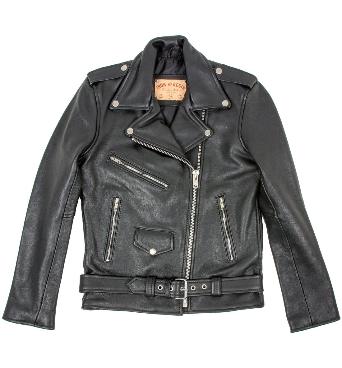INR x Understated Leather Easy Rider Jacket - Apparel: Women's: Outerwear - Iron and Resin