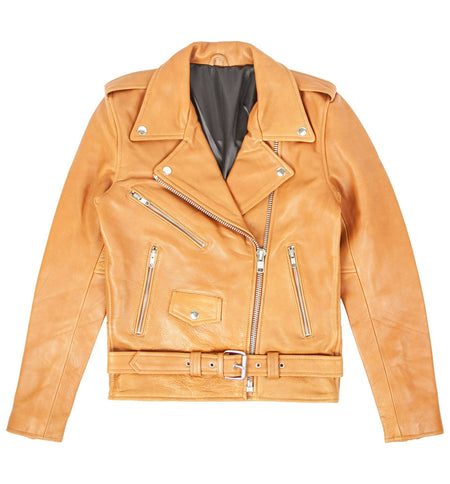 Understated Leather x INR Womens Easy Rider Jacket - Outerwear - Iron and Resin