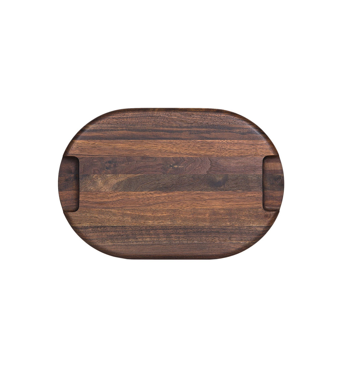 Deoria Made Atellia Collection, Edge-Grain Butcher Block, Small - Home Essentials - Iron and Resin