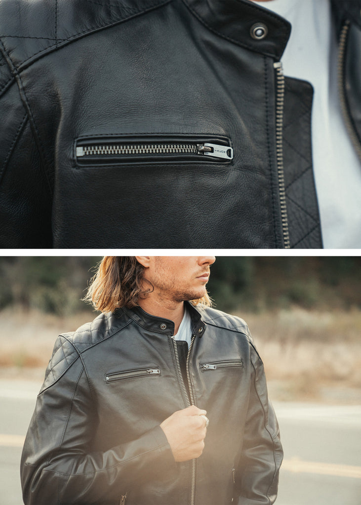 Iron & Resin Elsinore Jacket With Talon Zippers