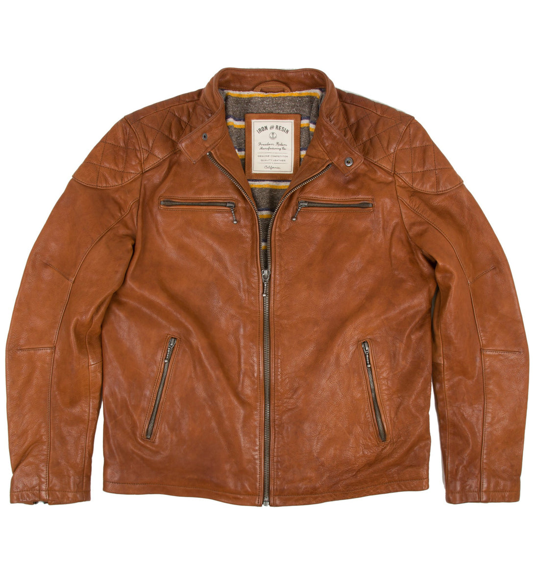 Elsinore Leather Jacket - Outerwear - Iron and Resin