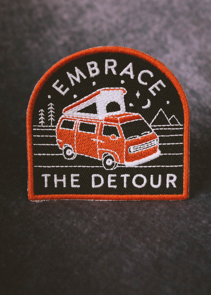 Iron & Resin Embrace The Detour Patch
