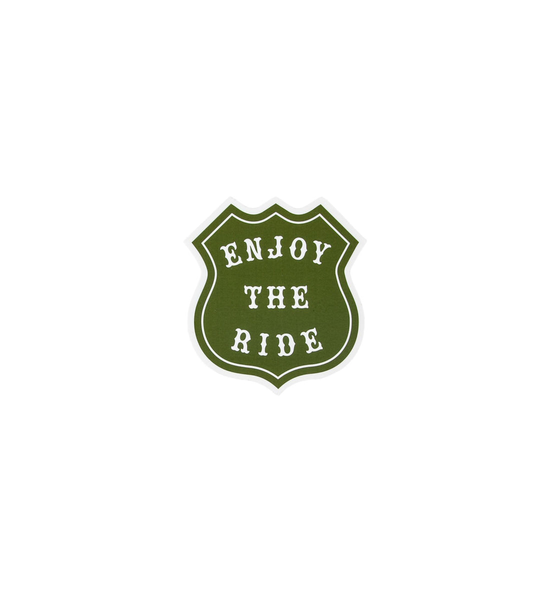 Enjoy The Ride Sticker - Stickers/Pins/Patches - Iron and Resin