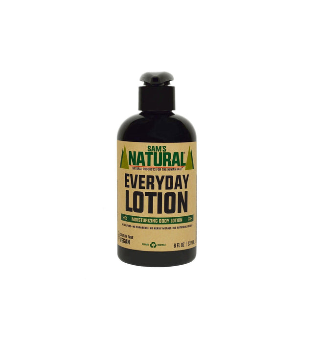 Sam's Natural Everyday Lotion - Grooming - Iron and Resin