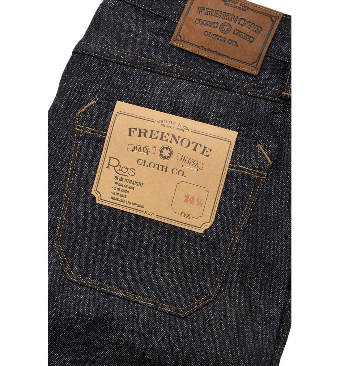 FREENOTE Rios Slim Straight - Bottoms - Iron and Resin
