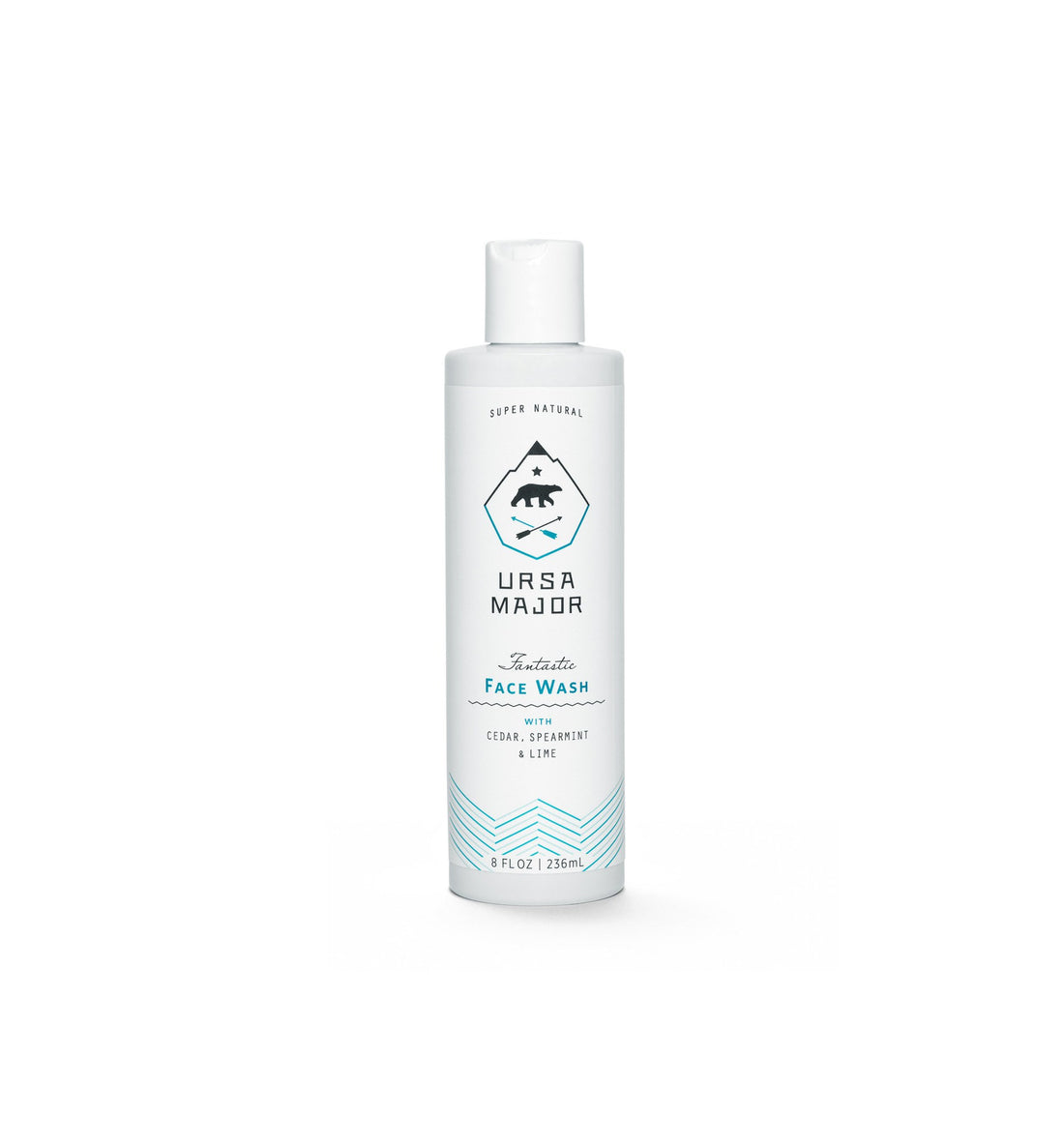 Ursa Major Fantastic Face Wash, 8 oz. - Grooming: Skin - Iron and Resin