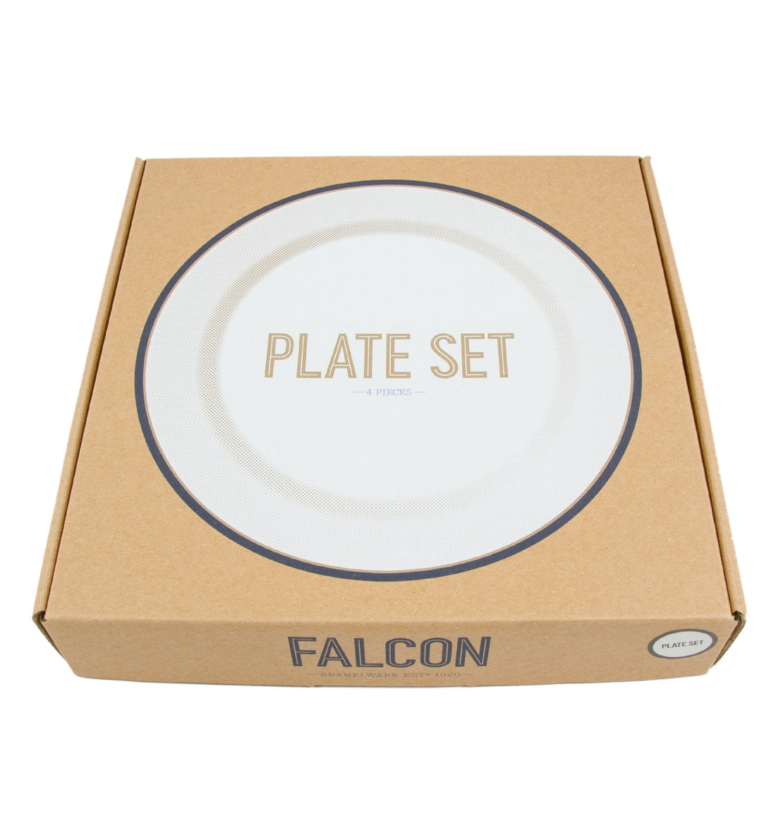 Falcon Enamelware- Plate Set - Kitchenware - Iron and Resin