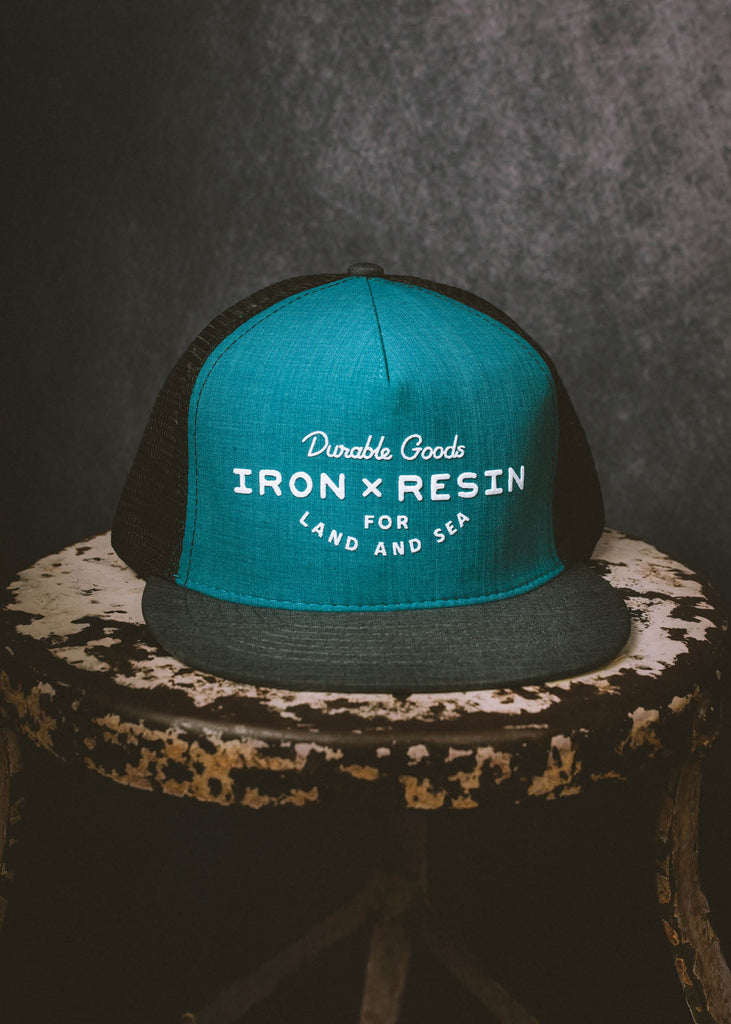 Iron & Resin Field Hat in Marine