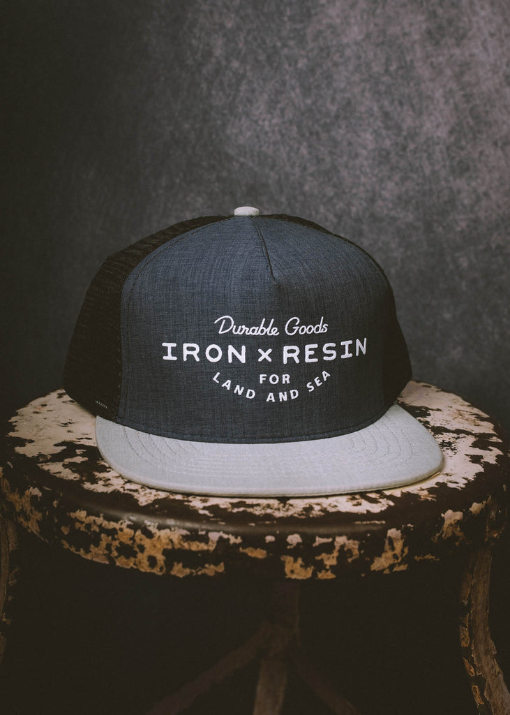 Iron & Resin Field Hat in Navy
