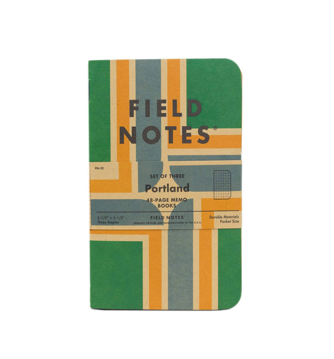 Field Notes Portland 3-pk - Accessories: Journals - Iron and Resin