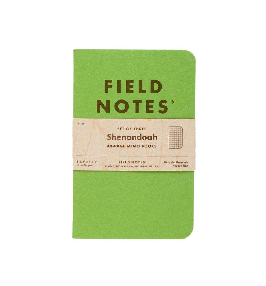 Field Notes Shenandoah - Accessories: Journals - Iron and Resin