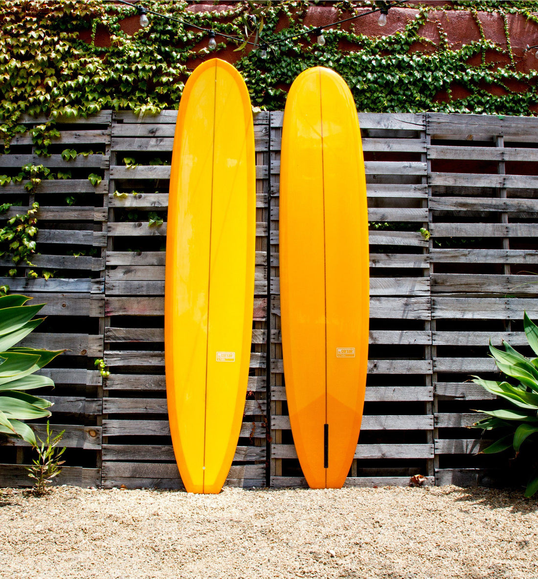 Fineline Surfboards Corsair, Yellow 9' - Surf - Iron and Resin