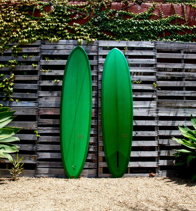 "Fineline Surfboards Egg, Emerald 7'6"" - Surf - Iron and Resin"