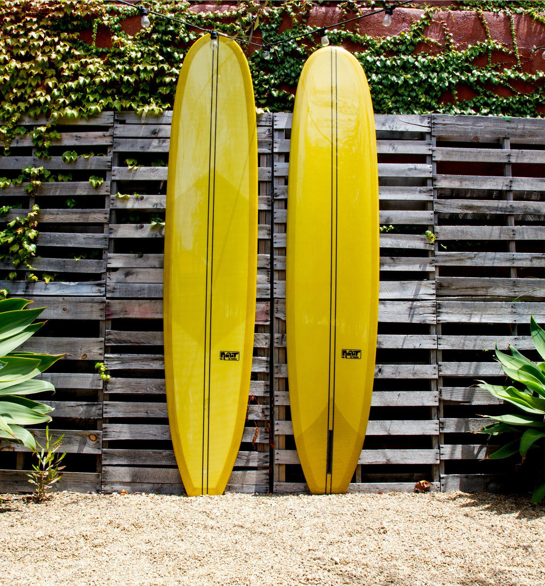 Fineline Surfboards Newt, Avocado 9'6 - Surf - Iron and Resin