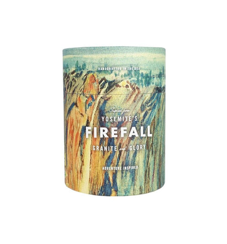 National Park Candle - Firefall - Home Essentials - Iron and Resin