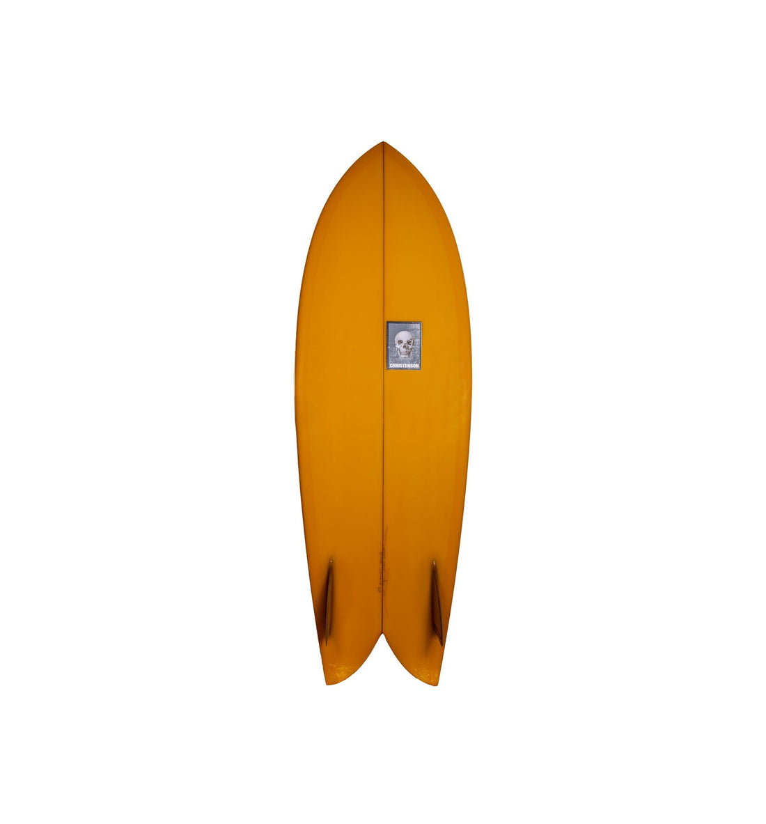 "Christenson Surfboards Fish - Yellow Tint - 5'8"" - Surf - Iron and Resin"