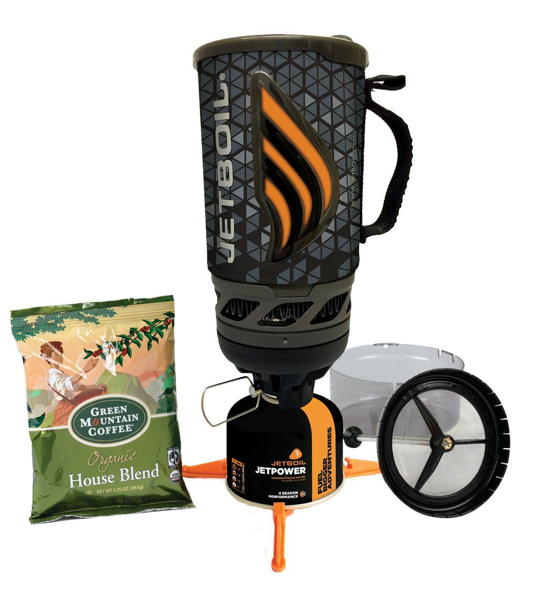 JetBoil Flash JavaKit - Geo - Outdoor Living/Travel - Iron and Resin
