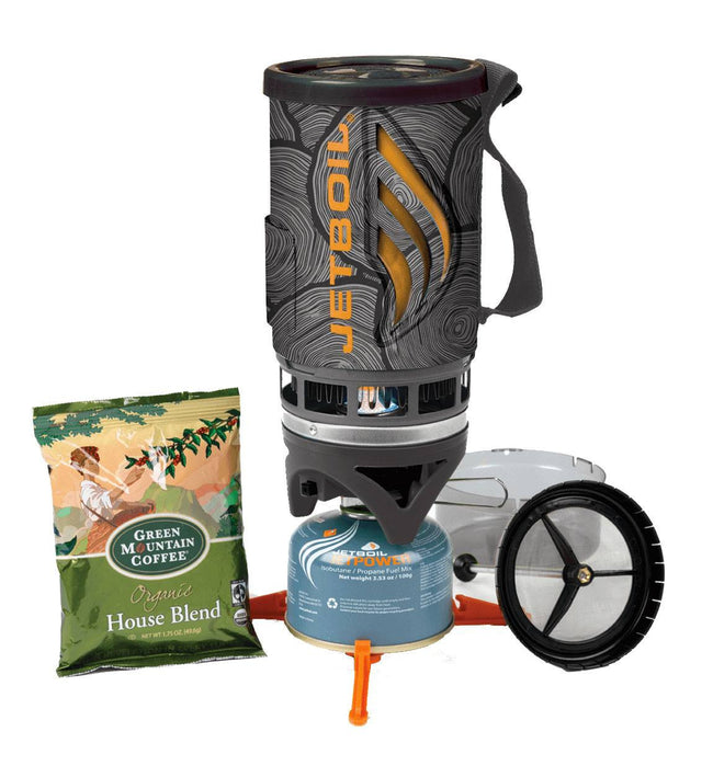 Jetboil Flash Java Kit End Grain - Camping - Iron and Resin