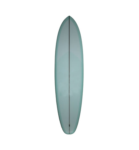 "Christenson Surfboards Flat Tracker - Aqua Tint - 7'2"" - Surf - Iron and Resin"