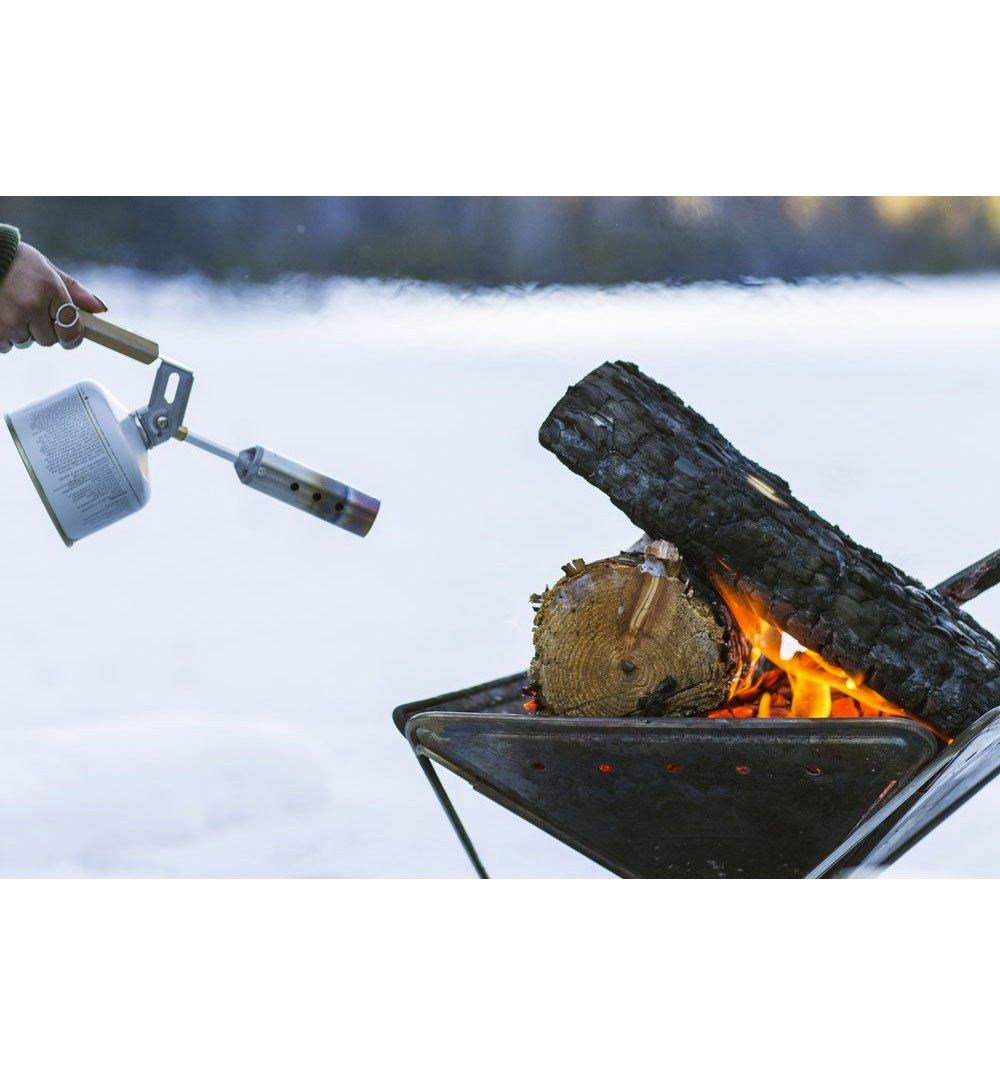 Snow Peak Folding Torch - Outdoor Living/Travel - Iron and Resin