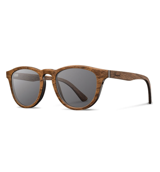 Shwood Francis, Walnut - Grey - Accessories: Eyewear - Iron and Resin