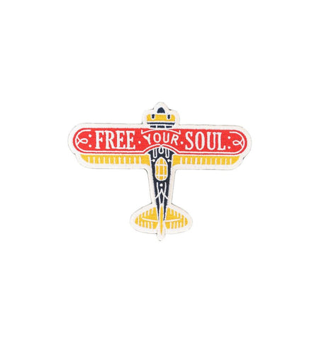Asilda - Free Your Soul Patch - Accessories: Patches - Iron and Resin