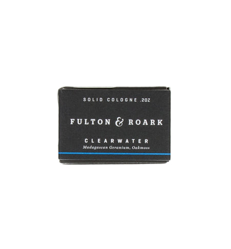 Fulton & Roark Solid Cologne Refill Clearwater - Grooming - Iron and Resin