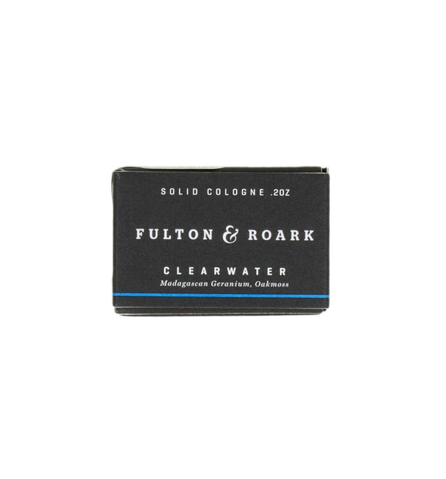 Fulton & Roark Clearwater Solid Cologne Refill - Apparel: Women's: Swimwear - Iron and Resin