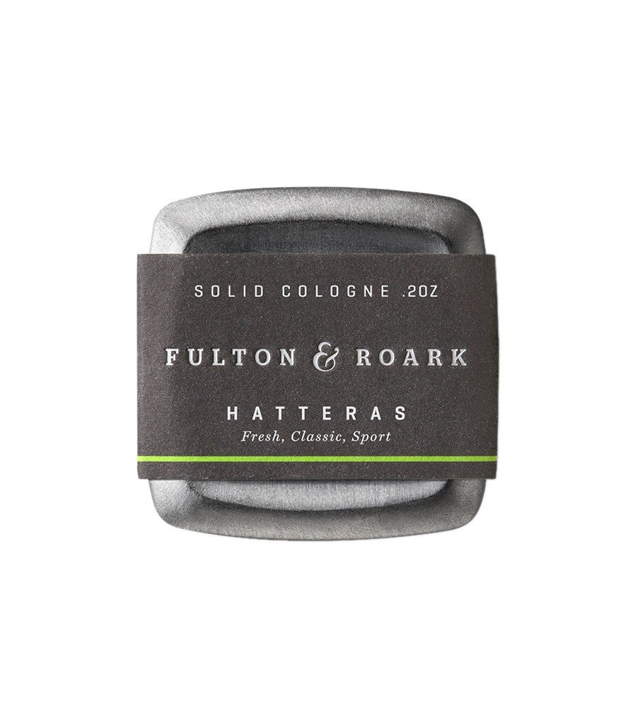 Fulton & Roark Solid Cologne Hatteras - Grooming - Iron and Resin
