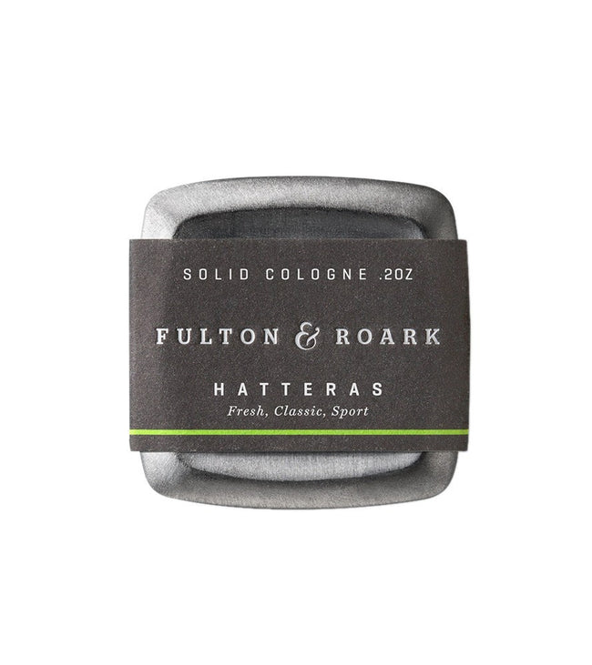 Fulton & Roark- Hatteras Solid Cologne - Grooming - Iron and Resin