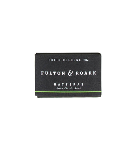 Fulton & Roark Solid Cologne Refill Hatteras - Grooming - Iron and Resin
