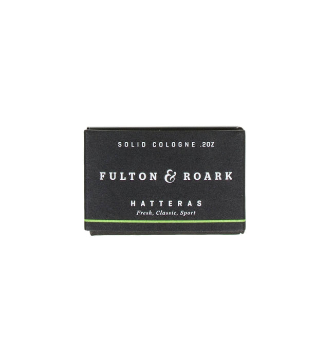 Fulton & Roark Hatteras Solid Cologne Refill - Grooming: Cologne - Iron and Resin