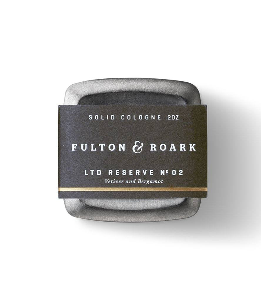 Fulton & Roark Solid Cologne Ltd Reserve No. 2 - Grooming: Cologne - Iron and Resin