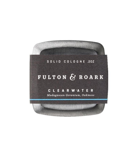 Fulton & Roark Solid Cologne Clearwater - Grooming - Iron and Resin
