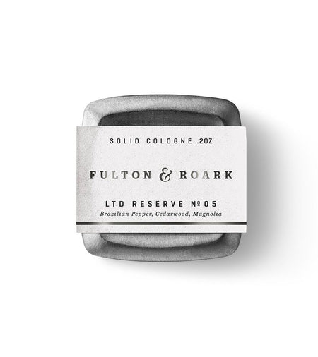 Fulton & Roark Solid Cologne Palmetto - Grooming - Iron and Resin